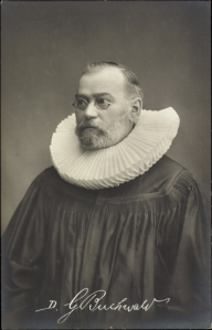Dr. Georg Buchwald in 1908, while serving as pastor of St. Michaelis Church in Leipzig