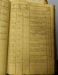 Johannes Strieter's baptismal record (2)