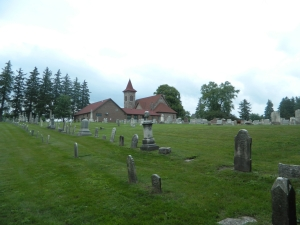 Bethel United Church of Christ Cemetery, where Jacob and Katharina Strieter are buried