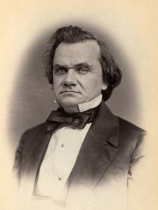 Stephen A. Douglas, by Vannerson, 1859.